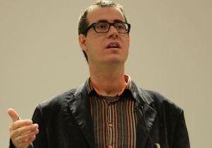 Dr. Haigh gives a keynote speech
